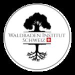 Logo des Waldbaden Instituts Schweiz zeigt den Baum mit dem Ebenbild der Wurzeln